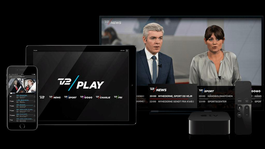 TV2 Play TV2 Play delivers all 6 broadcast channels