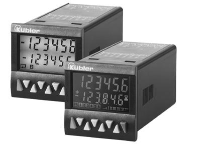 The multifunction preset counters Codix 923 / 924 can be used universally.